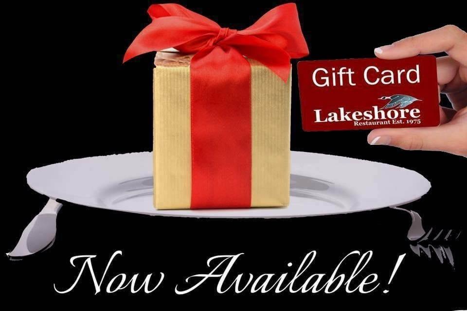 Lakeshore Restaurant Gift Certificates