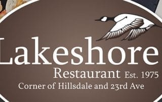 Lakeshore Restaurant Est. 1975. Corner of Hillsdale and 23rd Ave